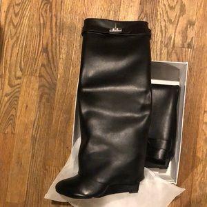 Givenchy shark lock boots!!